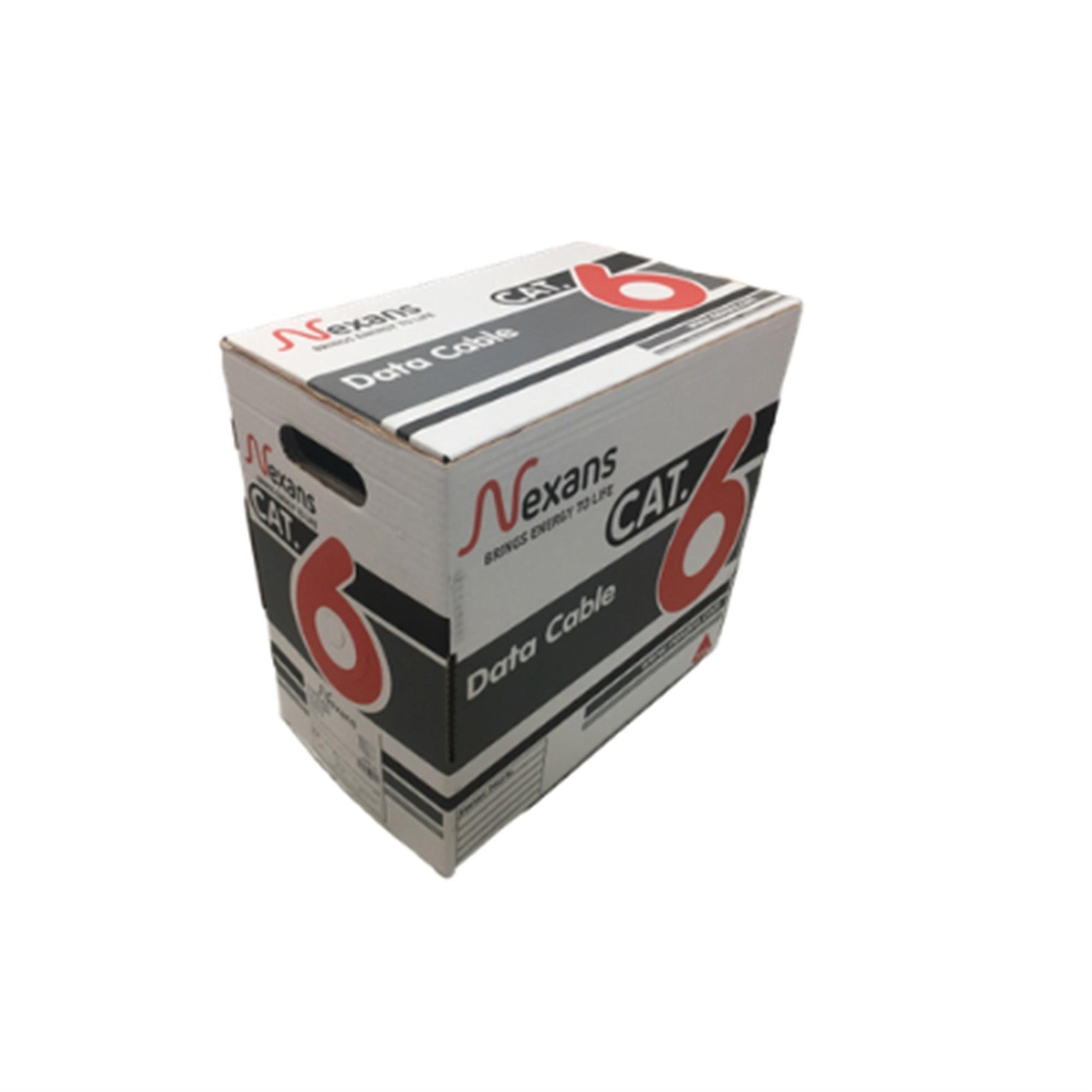 NEXANS 305 MT U / UTP PVC 23AWG CAT 6 100% COPPER NETWORK CABLE