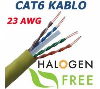 500 MT CAT6 23AWG UTP HALOJEN FREE NETWORK CABLE