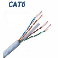 1000 MT 24AWG 4X2X24 AWG CAT 6E UTP AWG NETWORK CABLE